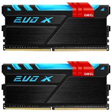 GEIL EVO X DDR4 16GB 3200Mhz CL16 Dual Channel Desktop RAM